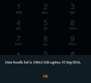 mtn data bundle balance