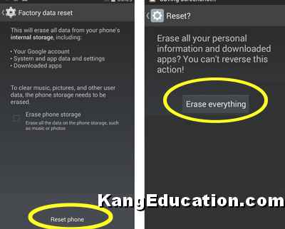 2 Cara Reset HP OPPO A37 - Soft dan Hard Reset - Kang Education