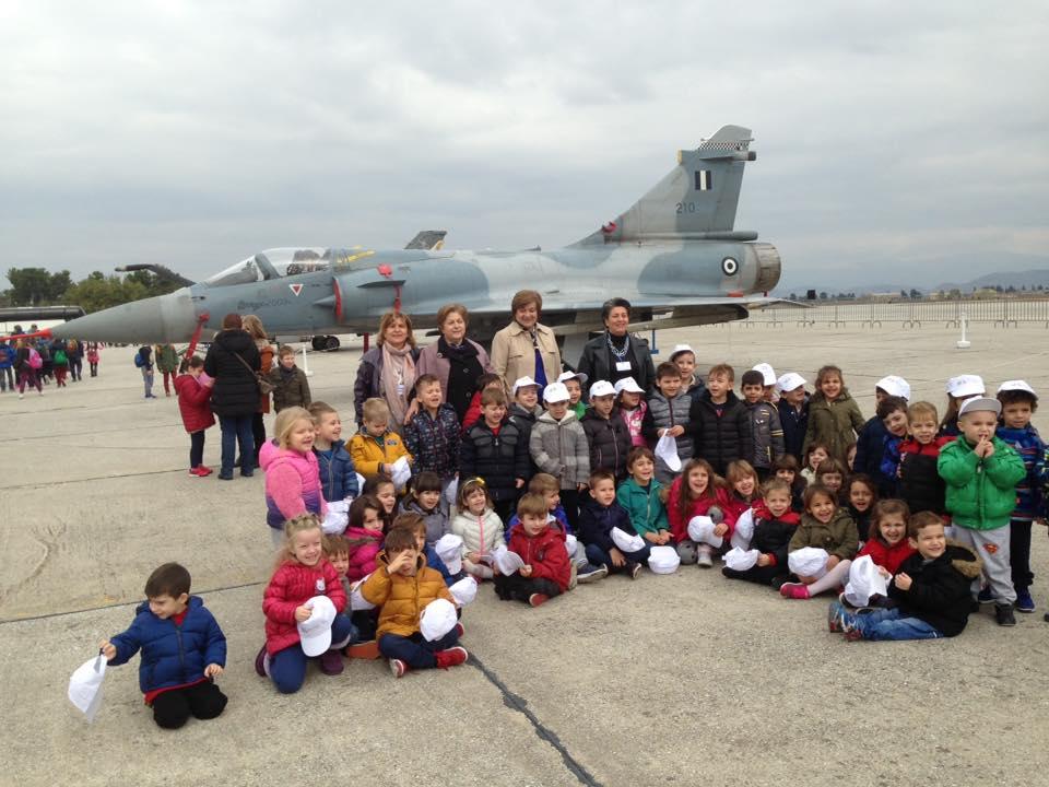 Επισκέψεις Παιδικών Σταθμών του Δήμου Λαρισαίων στην 110 ΠΜ (ΦΩΤΟ)