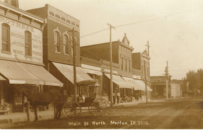Postcards From The Past Morton Illinois Main Street