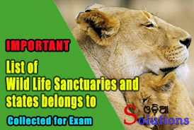 Wild Life Santuary and State belongs to