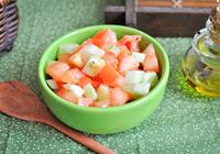 saladinha de tomate e pepino