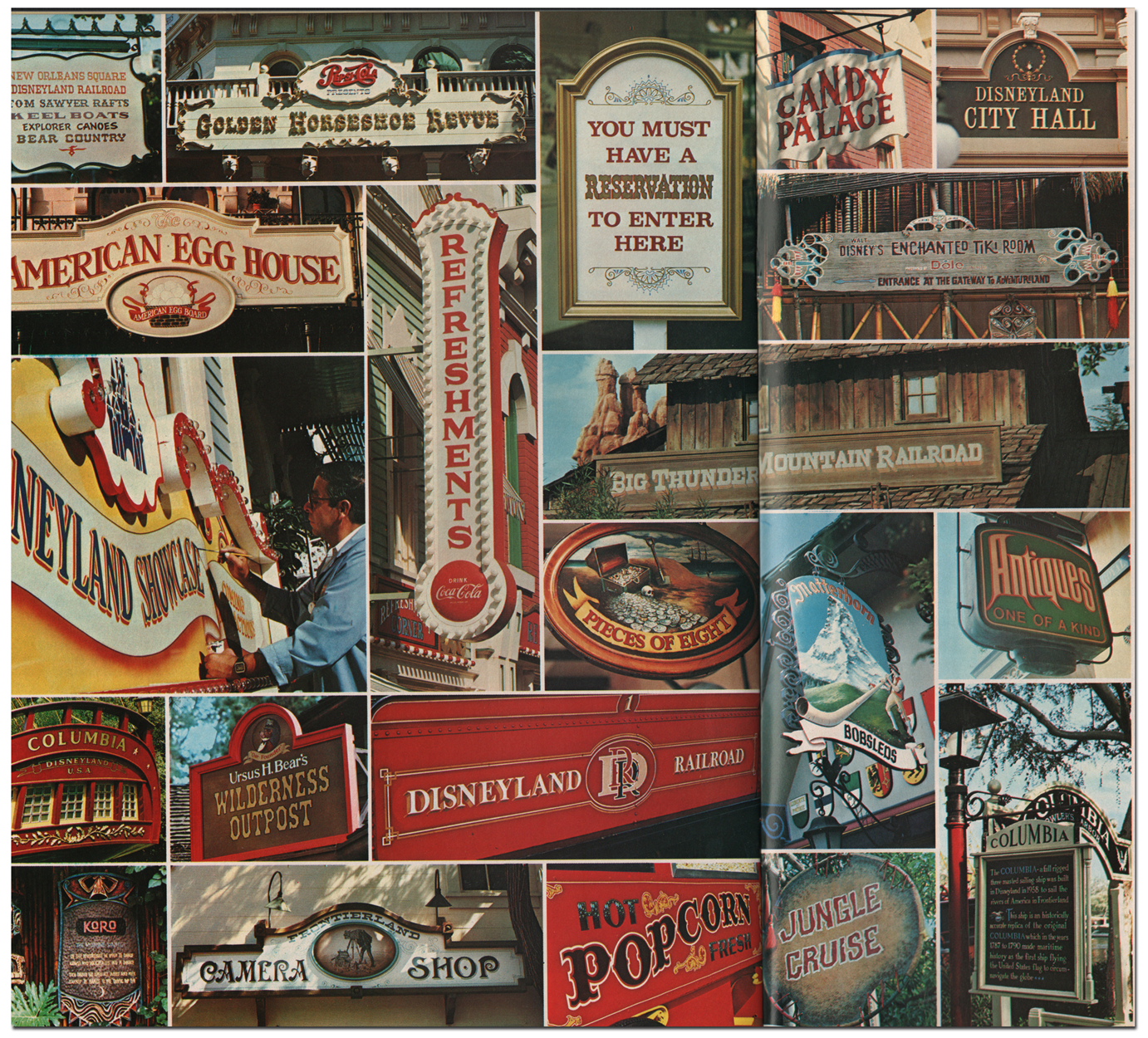 Disney Info Sites: The Disneyland Sign And Pictorial Shop