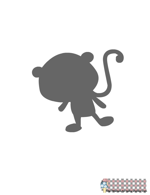 Animals Silhouette: Free Printable Clipart