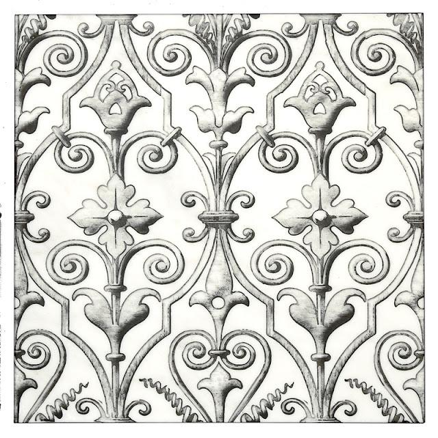 Serenata Pattern in Iron