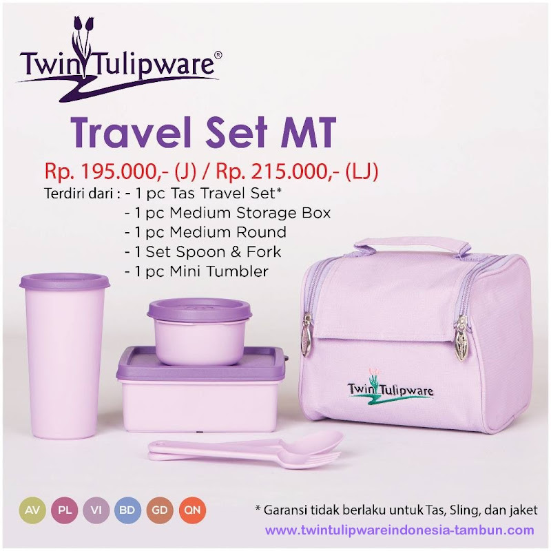 Travel Set MT - Katalog 2017 Twin Tulipware