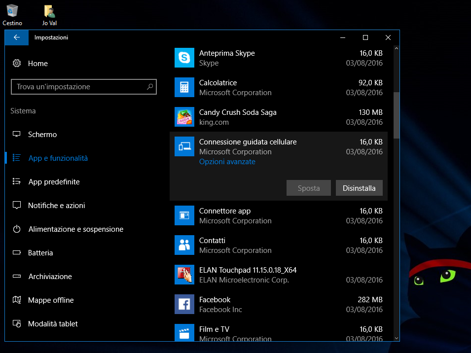 Come ripristinare le App in Windows 10 HTNovo