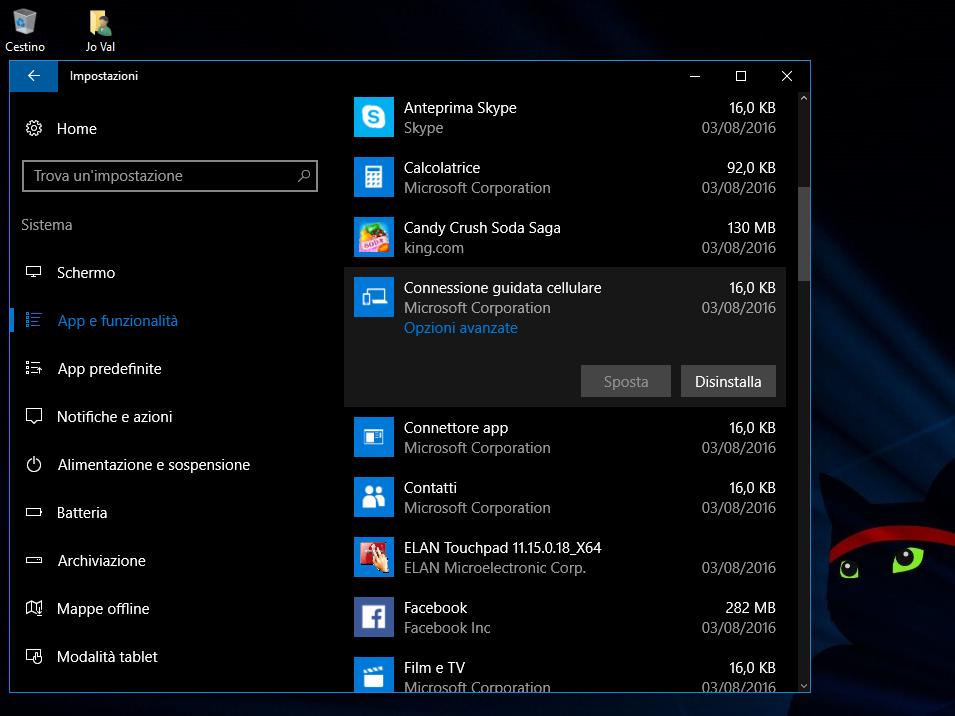 Come ripristinare le App in Windows 10 HTNovo