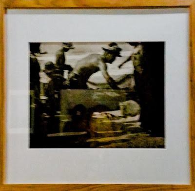 Esta é a imagem (incomum) dos pescadores- Exposição Lentes da Memória
