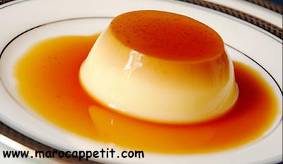 Flan aux oeufs caramélisé | Egg custard caramelised