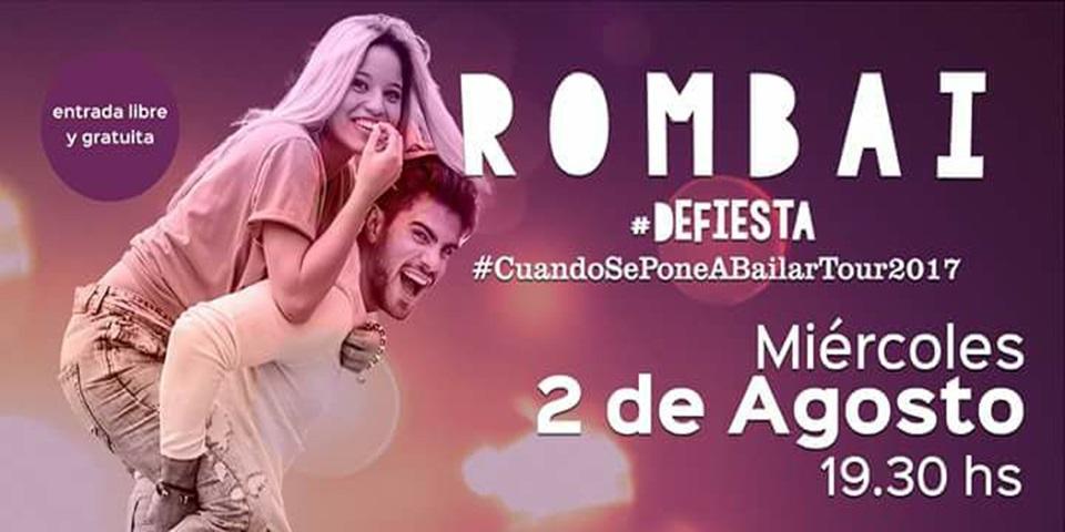 Recital de Rombai gratis por la campaña