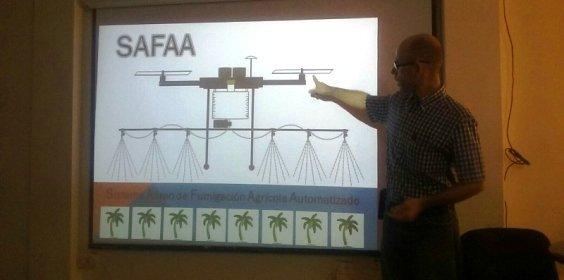 Ingenieros zulianos desarrollan dron capaz de fumigar 4 hectáreas en 15 minutos