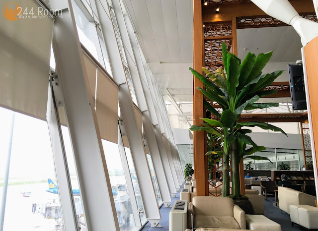 Noibai Airport Lotus Lounge ロータスラウンジ室内2