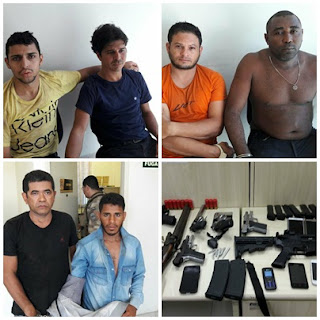 Polícia Militar enfrenta bando que explodiu Correios de Boa Vista e prende todos os envolvidos no crime