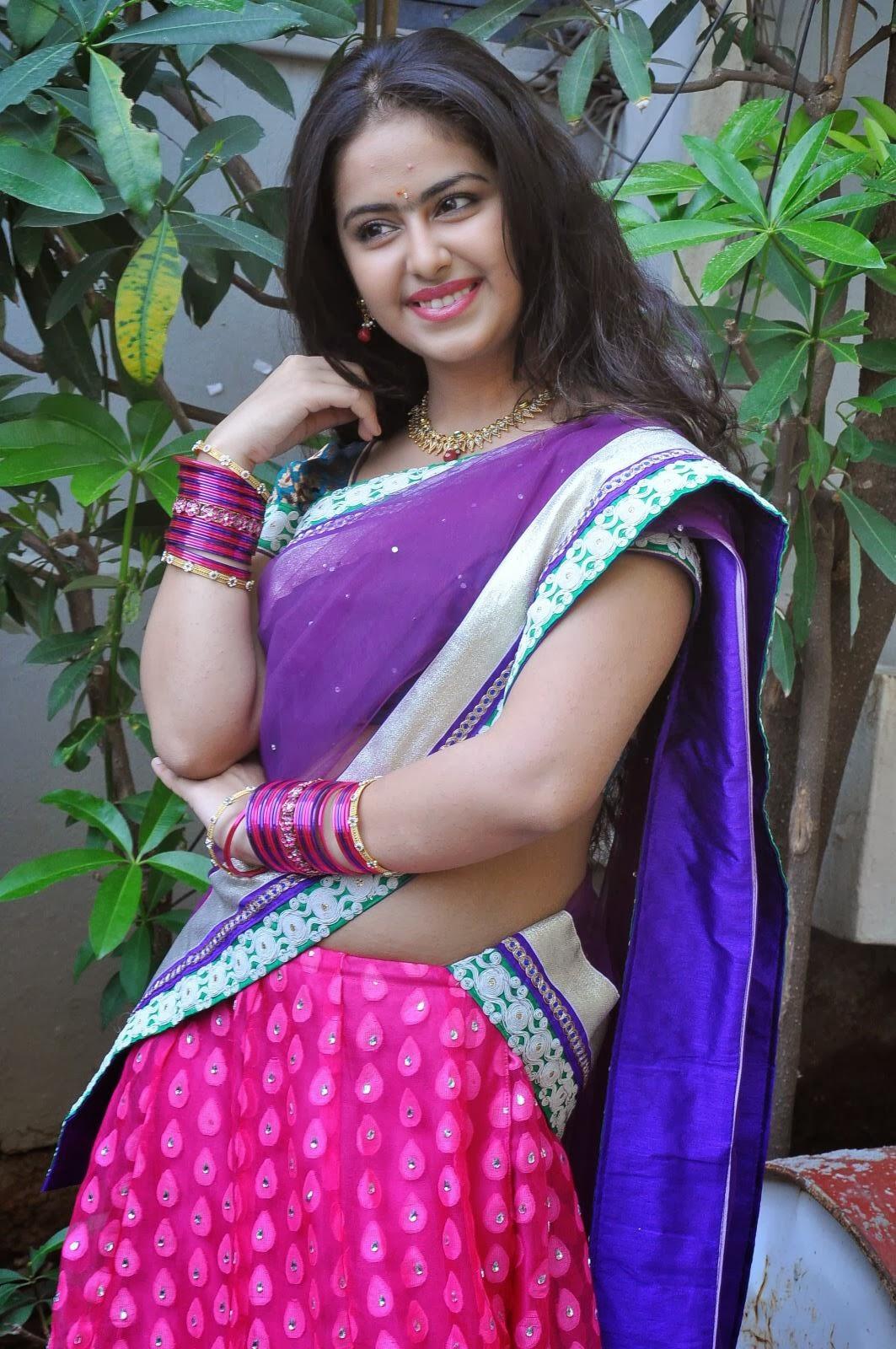 Actress:: Avika Gor (Uyyala Jampala Movie Frame) Photo ...