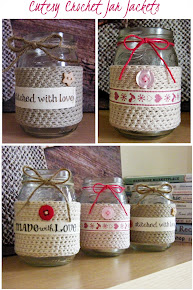 Crochet Jar Jackets