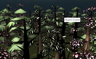 Okami Forest Skin AOTTG - Fantastic Forest