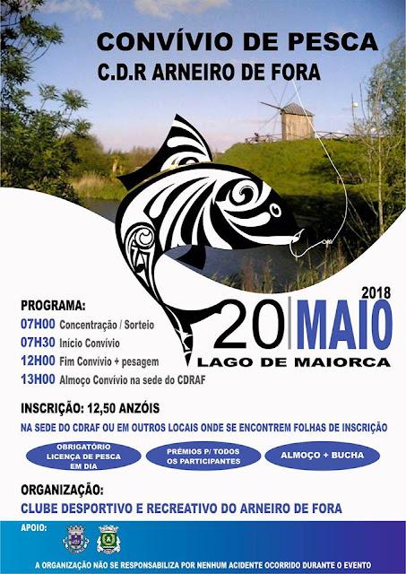 Convívio de Pesca C.D.R. Arneiro de Fora