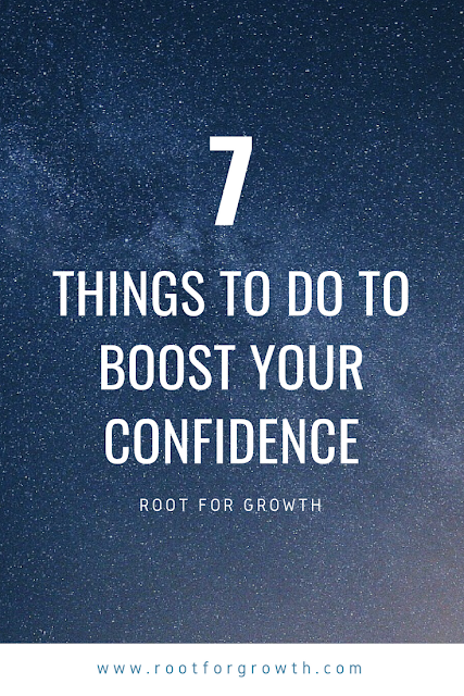 Confidence blog post with confidence boosters and confidence building