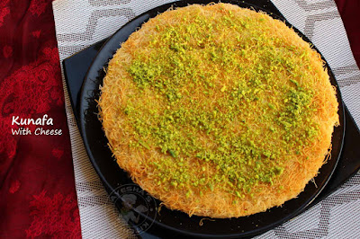 KUNAFA PERFECT SWEET DESSERT RECIPE
