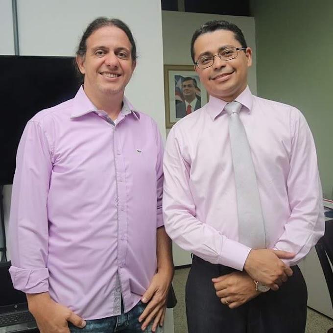 Com Prefeito de Caxias Fábio Gentil, Secretário de Saúde do Estado reforça intenção de continuar parceria com município