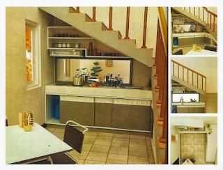 Interior Desain Rak Piring Gantung Pada Dapur Interior Rumah Kami