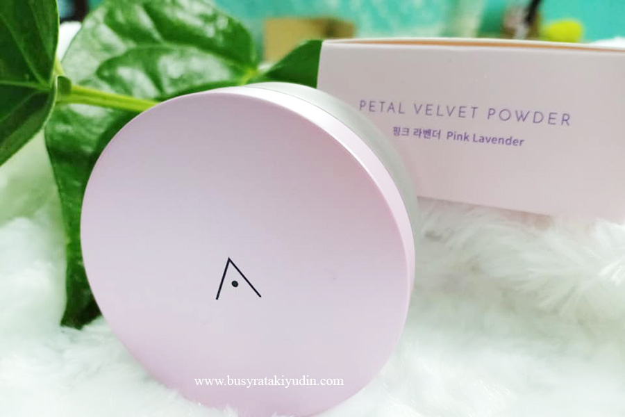 Althea Korea, bedak comel, Petal Velvet Powder, loose powder, Althea,