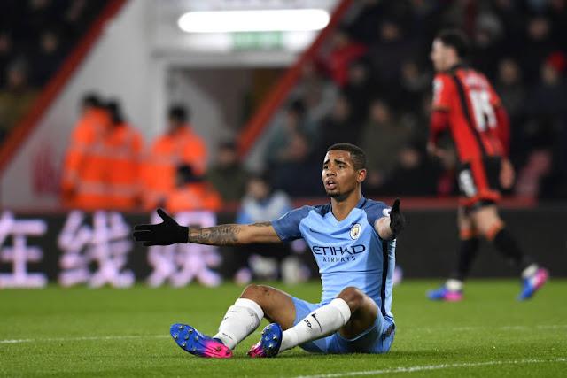 Gabriel Jesus já marcou três gols com a camisa do Manchester City (Foto: Stu Forster/Getty Images)