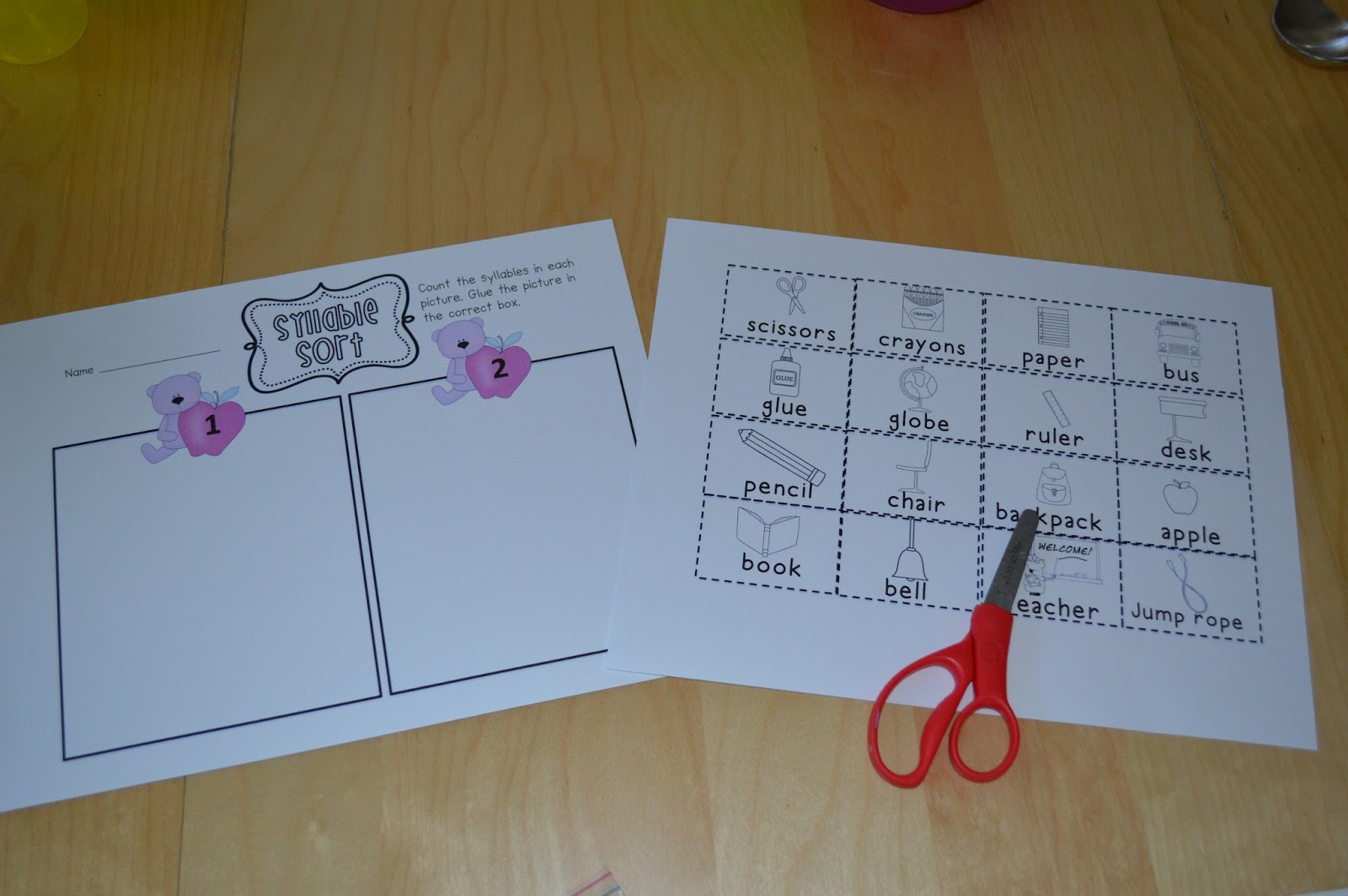 Sarah S First Grade Snippets Literacy Centers For Kindergarten And Great For First Grade Too