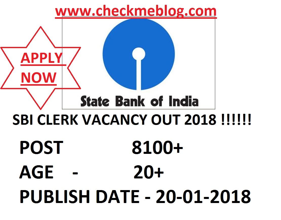recruitment in sbi clerk