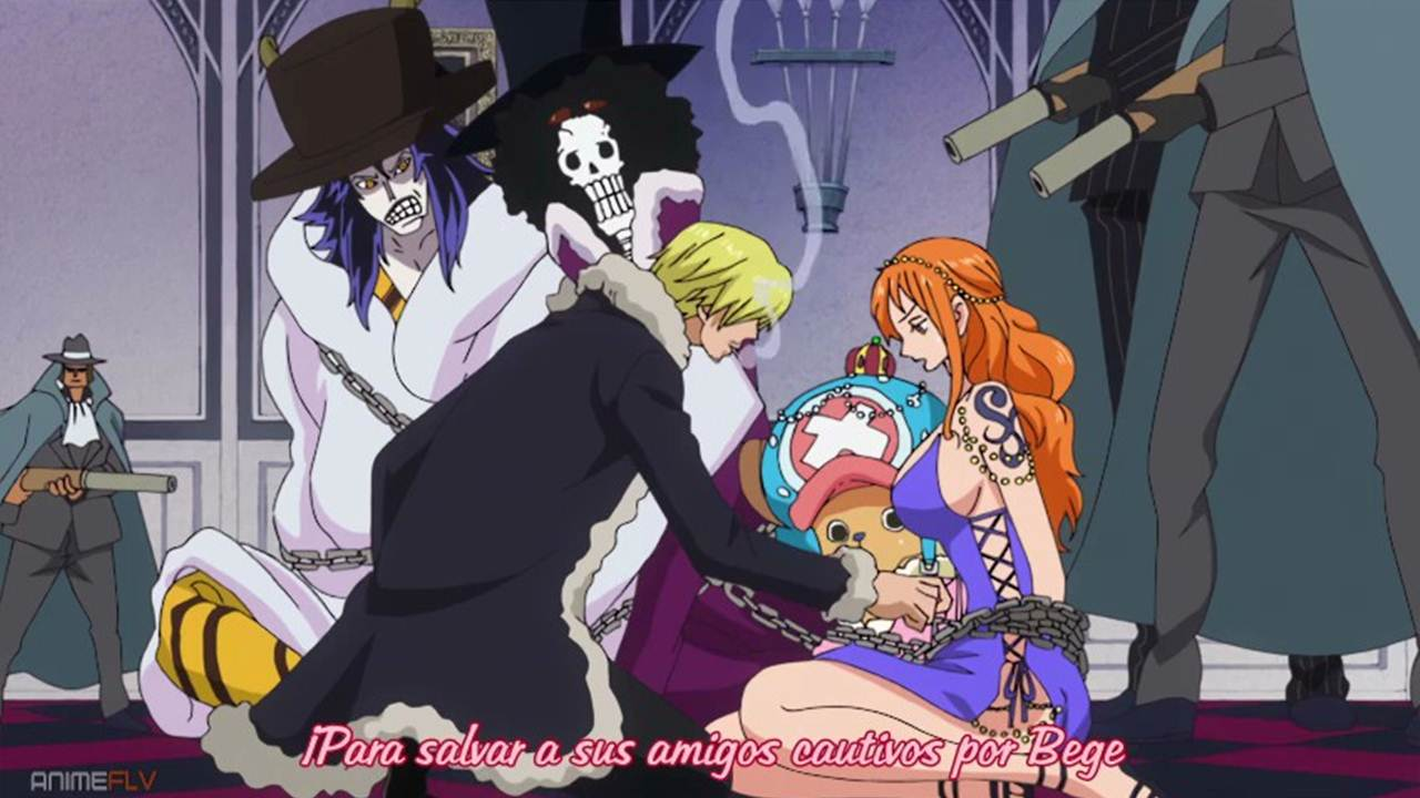 One Piece Anime cap 764 sub español