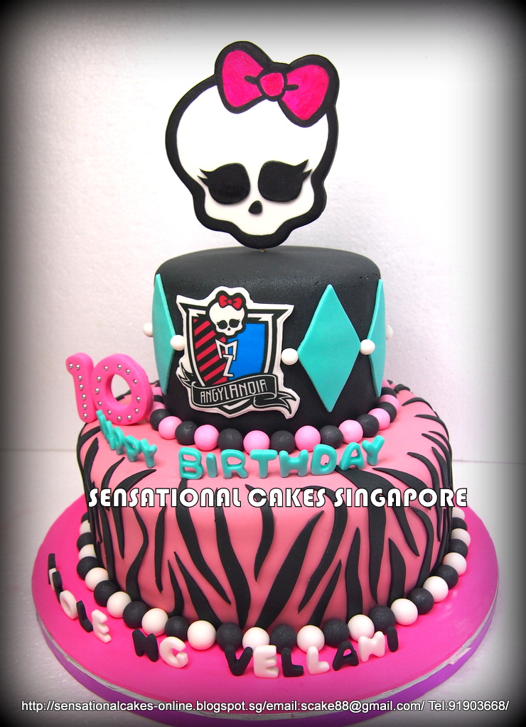 Cakes2share Singapore Monster High 3d Cake Singapore
