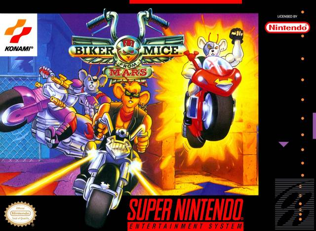 ROMs - Biker Mice From Mars (Português) - SNES Download
