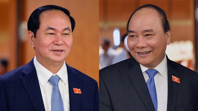 Trần Đại Quang và Xuân Phúc