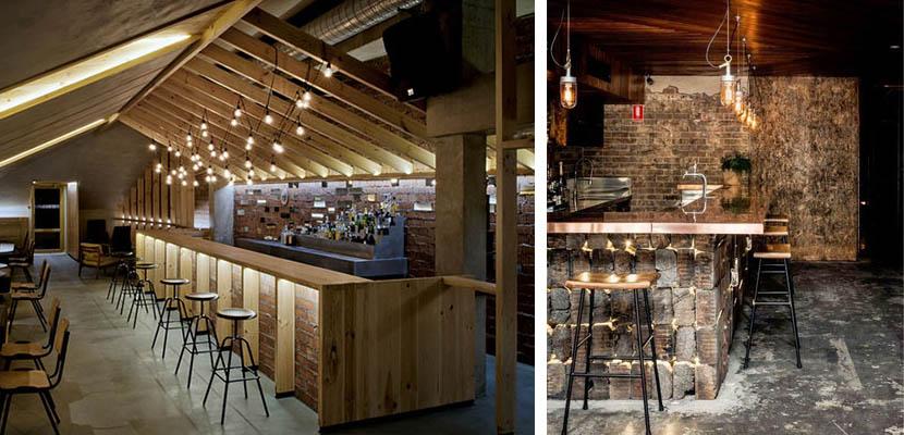Marzua barras de bar para la decoraci n de su negocio - Decoracion bares modernos ...