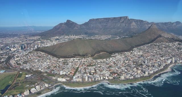 La preciosa Ciudad del Cabo