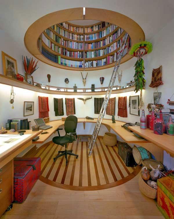 37 Ideas para la Biblioteca de diseño con un efecto de Jay