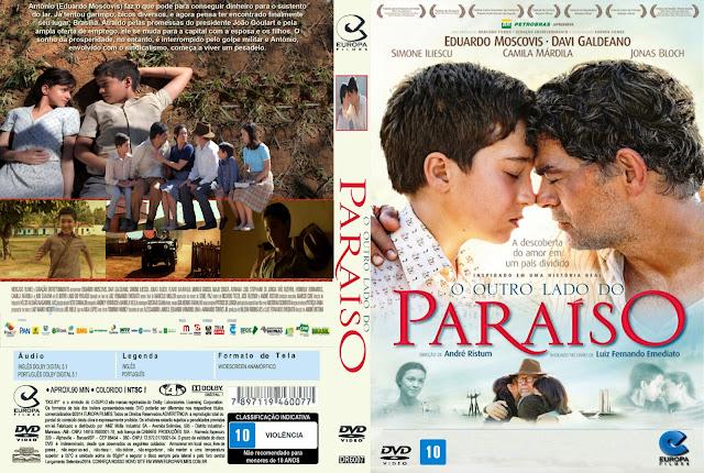 Capa DVD O Outro Lado Do Paraíso