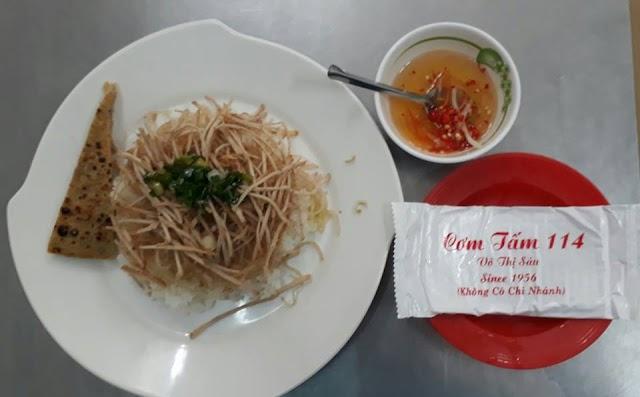Tiệm cơm tấm có từ năm 1956 ở Sài Gòn