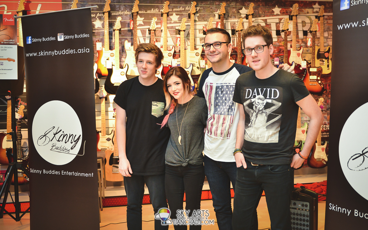 Interview with Alex Goot & Against The Current in Malaysia