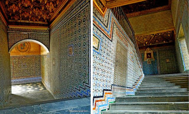 Escadarias da Casa de Pilatos, Sevilha