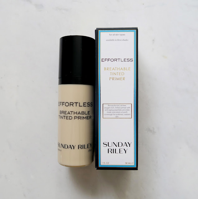 Sunday Riley Effortless Tinted Breathable Primer