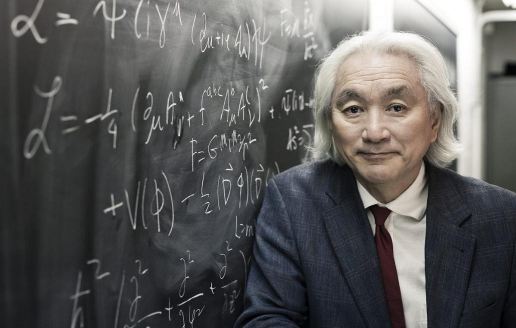 Foto fisico statunitense Dr Michio Kaku (24 gennaio 1947)