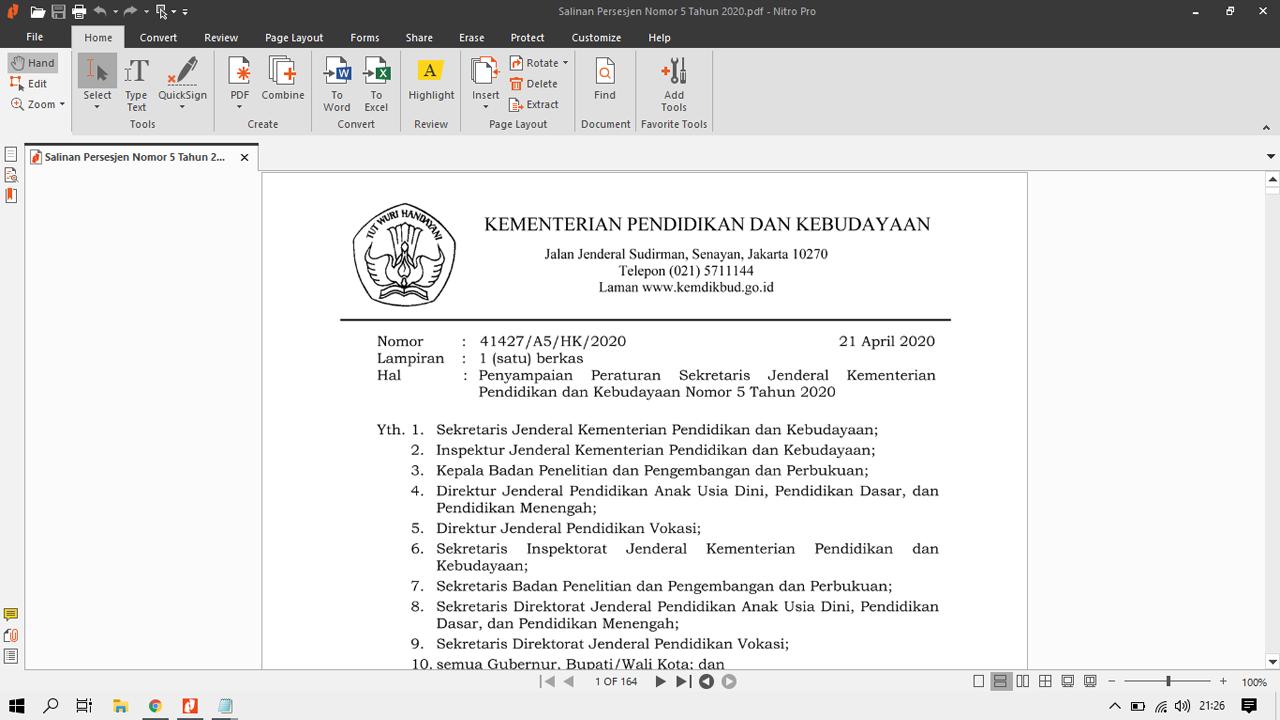 Pedoman Pengisian Blanko Ijazah Tahun Pelajaran 2019/2020