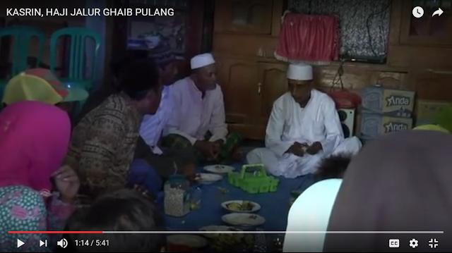 Merinding, Mendengar Penuturun Kasrin yang Telah Menunaikan Haji Selama 44 Hari Secara Misterius