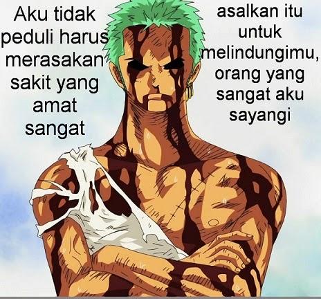 Kata Kata Cinta One Piece