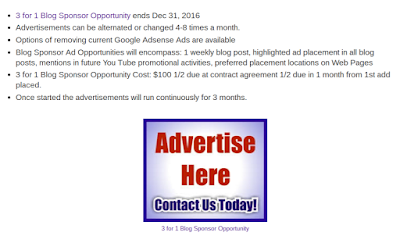 3for1 Advertising Opportunity