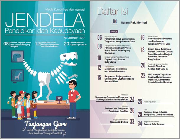 Majalah Jendela Dikbud Edisi XV September 2017