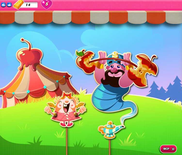 Candy Crush Saga 1776-1790