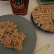 Chocolate Chip and Toasted Pumpkin Seed Waffles